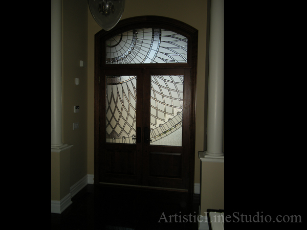 stained glass inserts for front doors 1